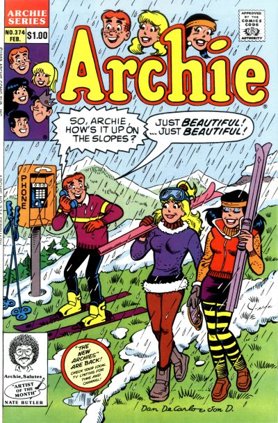 Cover for Archie (Archie, 1959 series) #374