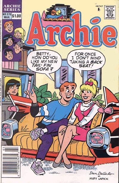 Cover for Archie (Archie, 1959 series) #375