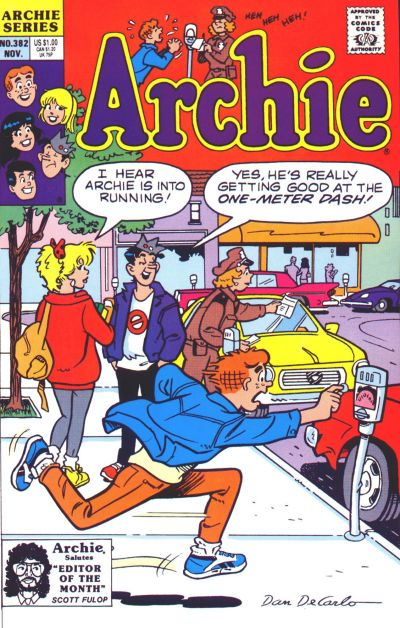 Cover for Archie (Archie, 1959 series) #382