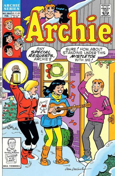 Cover for Archie (Archie, 1959 series) #384