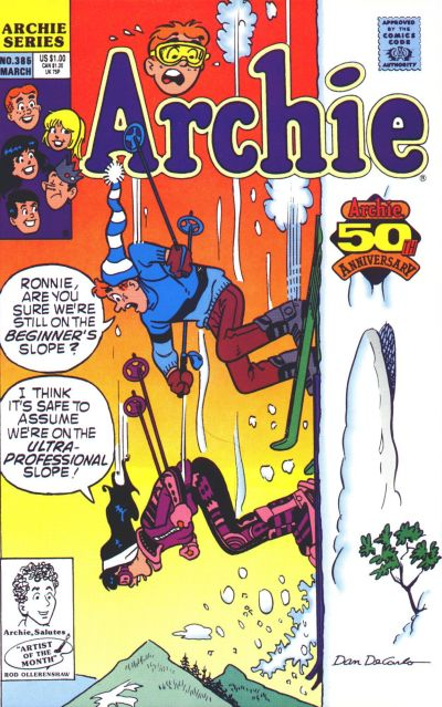 Cover for Archie (Archie, 1959 series) #385