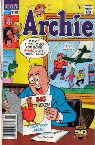 Cover for Archie (Archie, 1959 series) #387