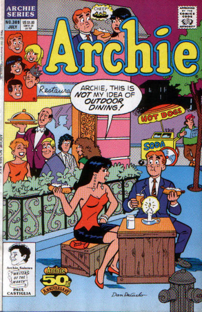 Cover for Archie (Archie, 1959 series) #389