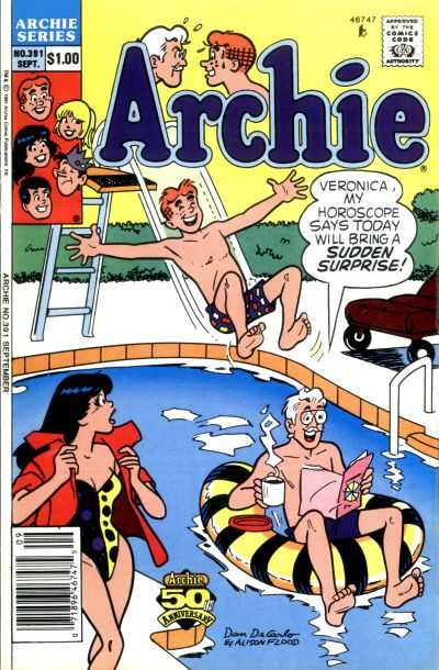 Cover for Archie (Archie, 1959 series) #391