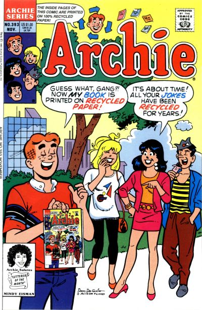 Cover for Archie (Archie, 1959 series) #393