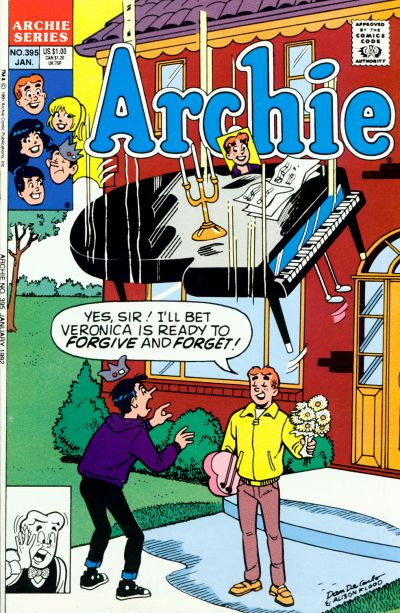 Cover for Archie (Archie, 1959 series) #395