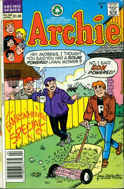 Cover for Archie (Archie, 1959 series) #398