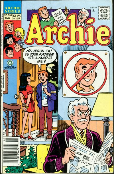 Cover for Archie (Archie, 1959 series) #399
