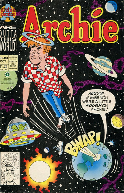 Cover for Archie (Archie, 1959 series) #404