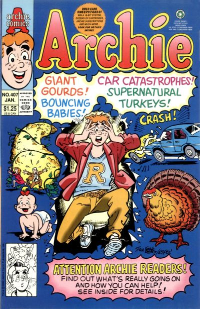 Cover for Archie (Archie, 1959 series) #407