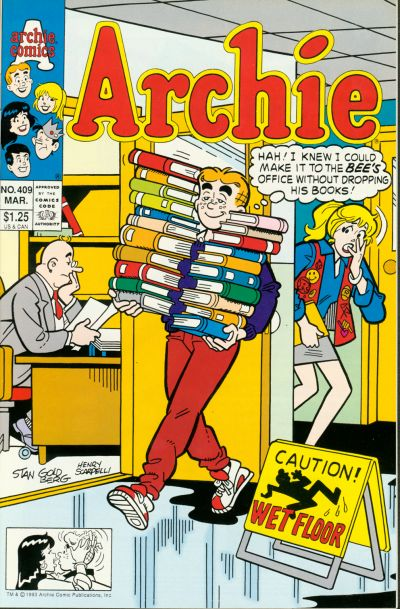Cover for Archie (Archie, 1959 series) #409 [Direct Edition]