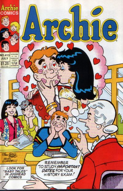 Cover for Archie (Archie, 1959 series) #413