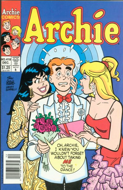 Cover for Archie (Archie, 1959 series) #418