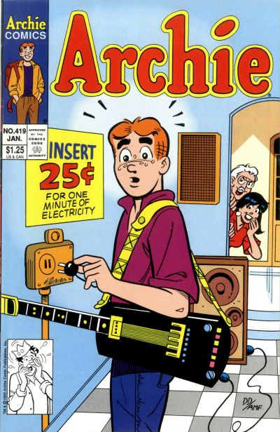 Cover for Archie (Archie, 1959 series) #419