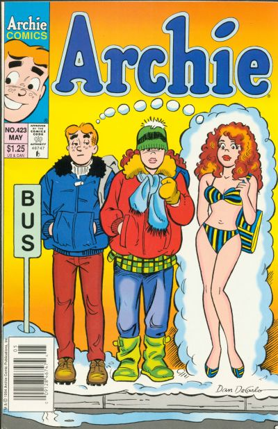 Cover for Archie (Archie, 1959 series) #423 [Direct]