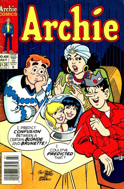 Cover for Archie (Archie, 1959 series) #425