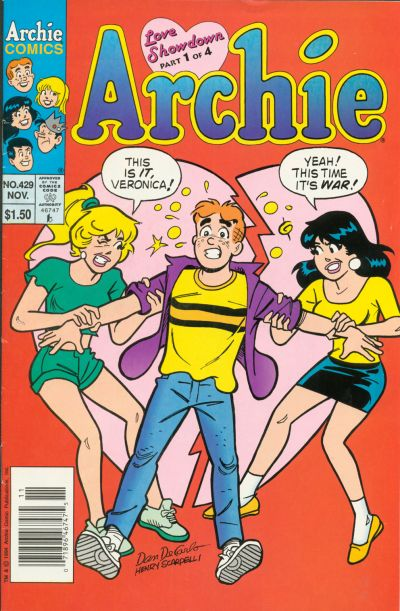 Cover for Archie (Archie, 1959 series) #429
