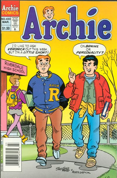 Cover for Archie (Archie, 1959 series) #433 [Direct]