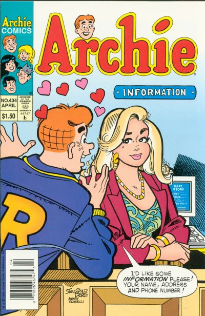 Cover for Archie (Archie, 1959 series) #434 [Direct]