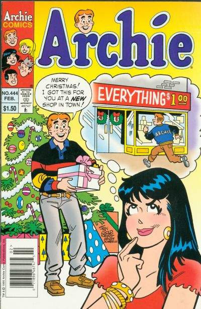Cover for Archie (Archie, 1959 series) #444