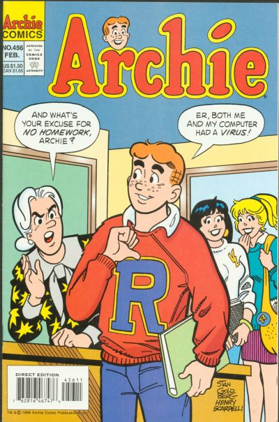 Cover for Archie (Archie, 1959 series) #456