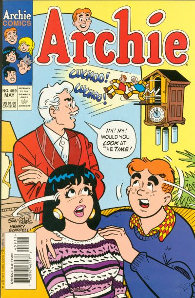 Cover for Archie (Archie, 1959 series) #459