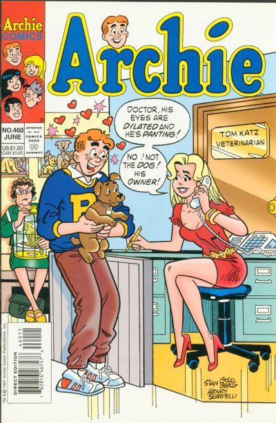 Cover for Archie (Archie, 1959 series) #460