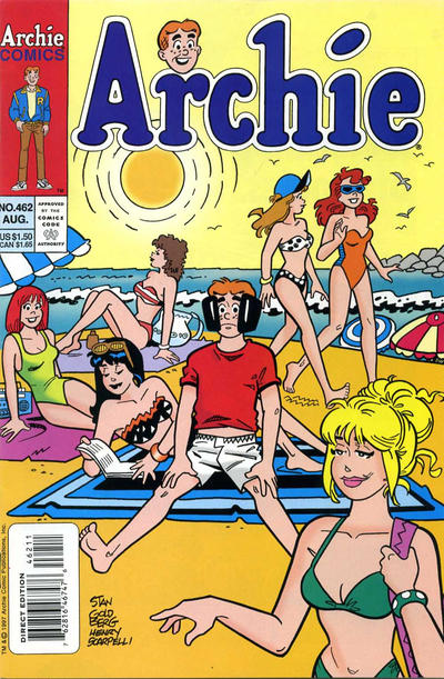 Cover for Archie (Archie, 1959 series) #462