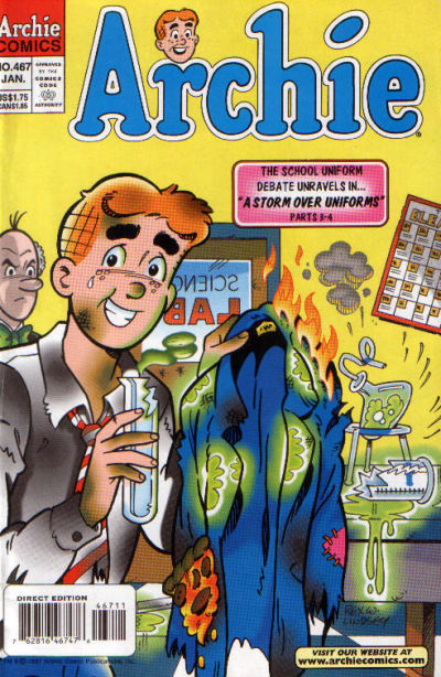Cover for Archie (Archie, 1959 series) #467