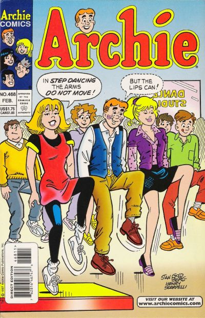 Cover for Archie (Archie, 1959 series) #468 [Newsstand]