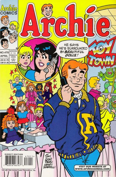 Cover for Archie (Archie, 1959 series) #470 [Direct Edition]