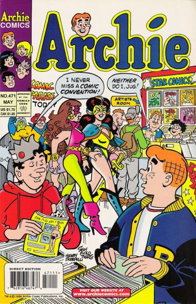 Cover for Archie (Archie, 1959 series) #471 [Direct]