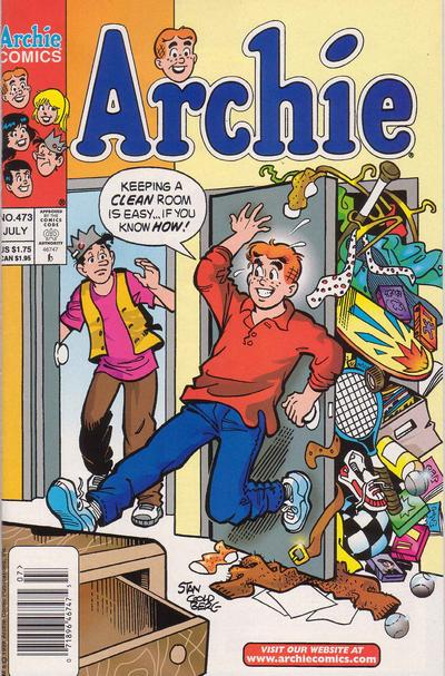 Cover for Archie (Archie, 1959 series) #473