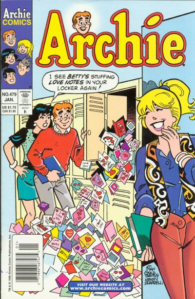 Cover for Archie (Archie, 1959 series) #479