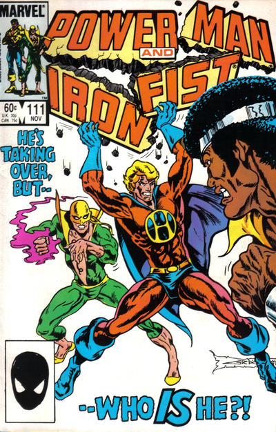 Cover for Power Man and Iron Fist (Marvel, 1981 series) #111
