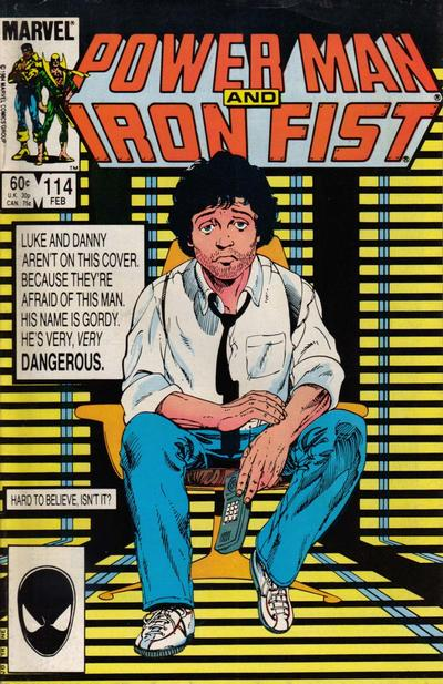 Cover for Power Man and Iron Fist (Marvel, 1981 series) #114 [newsstand]