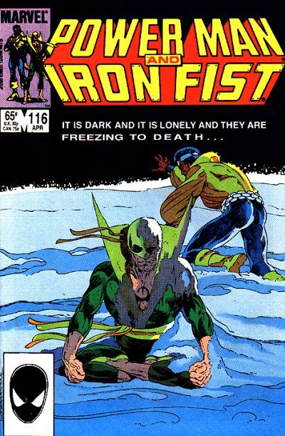 Cover for Power Man and Iron Fist (Marvel, 1981 series) #116 [direct]