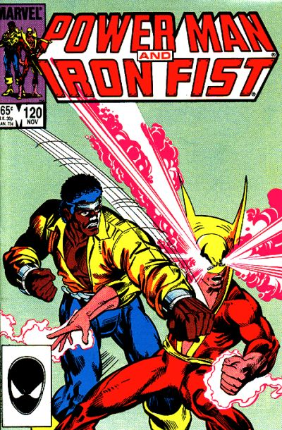 Cover for Power Man and Iron Fist (Marvel, 1981 series) #120 [Canadian newsstand edition]