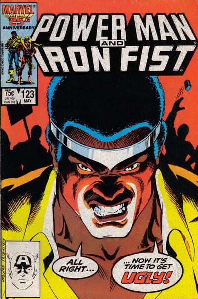 Cover for Power Man and Iron Fist (Marvel, 1981 series) #123 [direct]