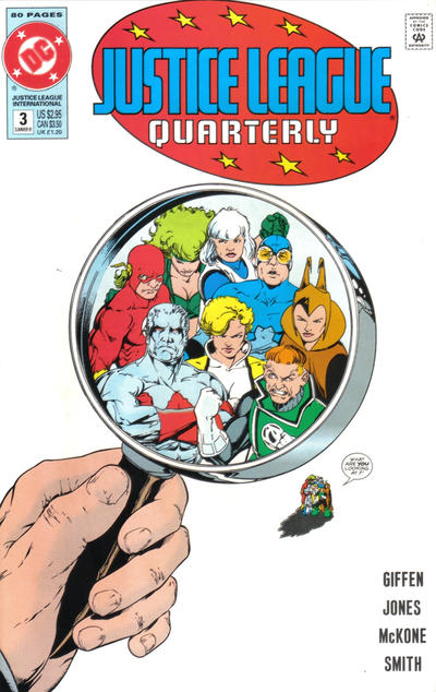 Cover for Justice League Quarterly (DC, 1990 series) #3 [Direct]