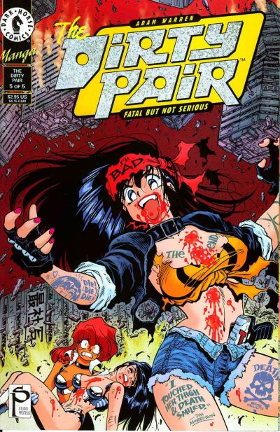 Cover for The Adam Warren Dirty Pair--Fatal But Not Serious (Dark Horse, 1995 series) #5