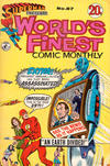 Cover for Superman Presents World's Finest Comic Monthly (K. G. Murray, 1965 series) #87