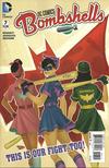 Cover for DC Comics: Bombshells (DC, 2015 series) #7