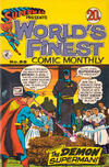 Cover for Superman Presents World's Finest Comic Monthly (K. G. Murray, 1965 series) #58