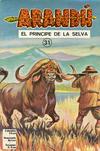 Cover for Arandú, El Príncipe de la Selva (Editora Cinco, 1977 series) #31