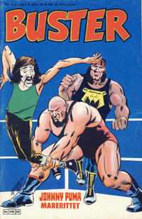 Cover Thumbnail for Buster (Semic, 1984 series) #4/1987