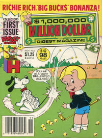 Cover Thumbnail for Million Dollar Digest (Harvey, 1986 series) #1 [Newsstand]