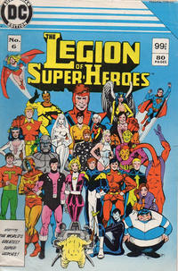 Cover Thumbnail for The Legion of Super-Heroes (Federal, 1984 series) #6