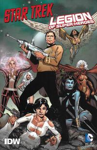 Cover Thumbnail for Star Trek / Legion of Super-Heroes TPB (IDW, 2013 series)