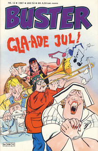 Cover Thumbnail for Buster (Semic, 1984 series) #12/1987
